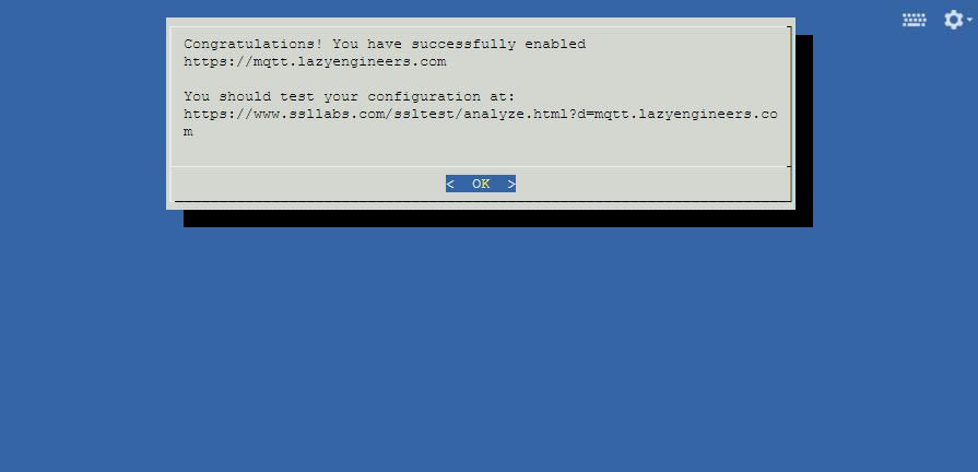 Let's Encrypt : Installation